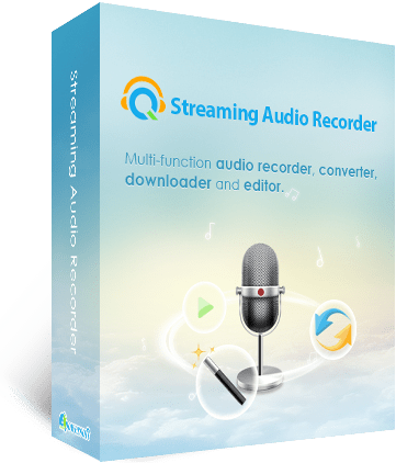 boîte de Streaming Audio Recorder