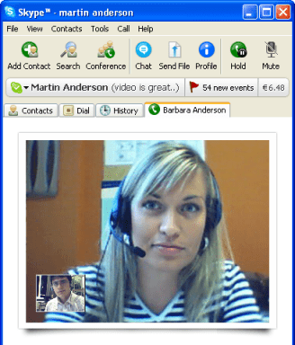 enregistrer conversation Skype