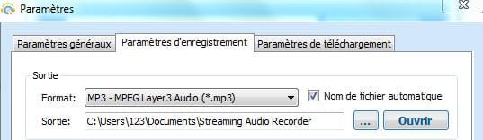 comment prendre l'audio d'une video youtube