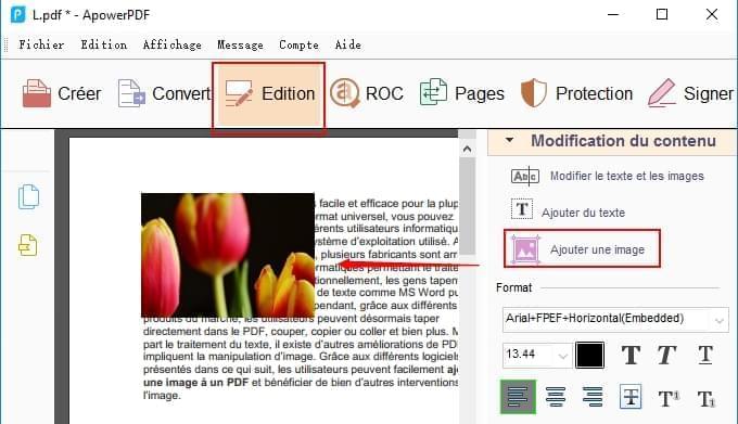 Comment Inserer Facilement Une Image Dans Un Fichier Pdf