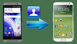 Comment Transferer Les Contacts D Un Htc Vers Un Samsung S5