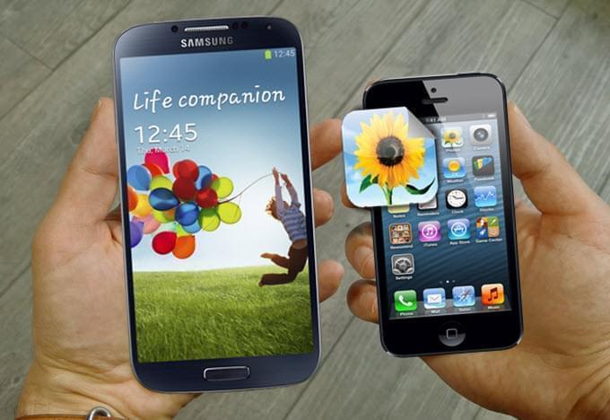 Comment Transferer Des Photos D Un Iphone Vers Un Samsung S5