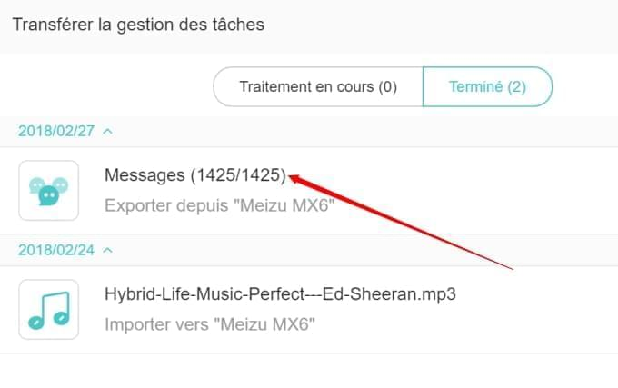 transferer historique sms android