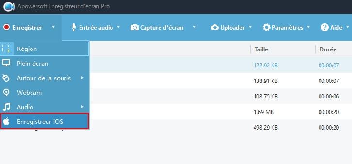 apowersoft enregistreur décran pro