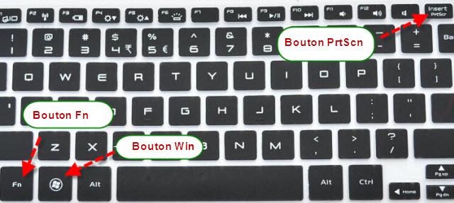 comment prendre l ecran d ordinateur en photo