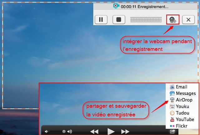 capture video son ecran mac