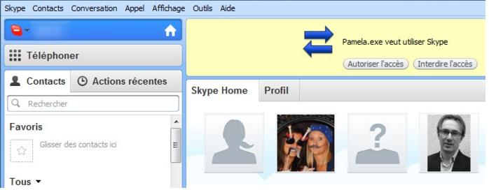 réécouter un appel skype