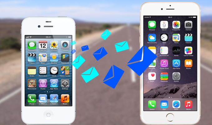 Comment Transferer Les Sms D Un Iphone A Un Autre