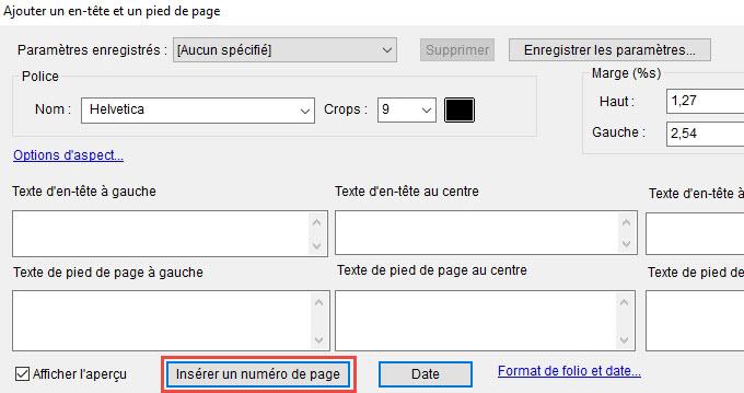 Guide Pour Numeroter Un Pdf