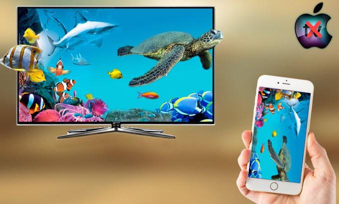 Comment Mettre En Miroir L Ecran Iphone Sur Tv Sans Apple Tv