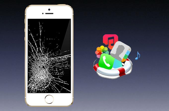 Comment Acceder A Un Iphone Lorsque L Ecran Est Casse